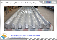 3003 3004 Corrugated Aluminum Roofing Sheet / Embossed Zinc Aluminum Roofing Sheet