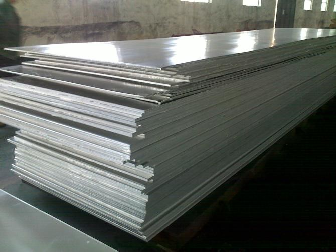 Silver 0.3mm Thickness 6061 T6 Aluminum Plate For Construction / Transportation