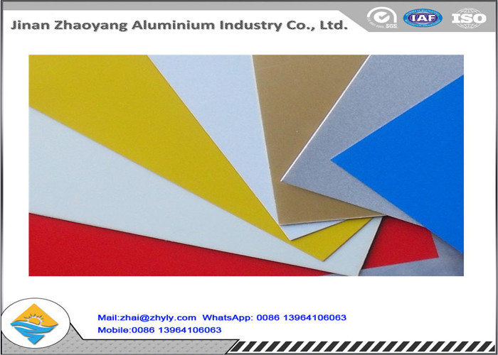 Oxidation Resistant Color Coated Aluminum Coil / Sheet Width 500 - 1500mm