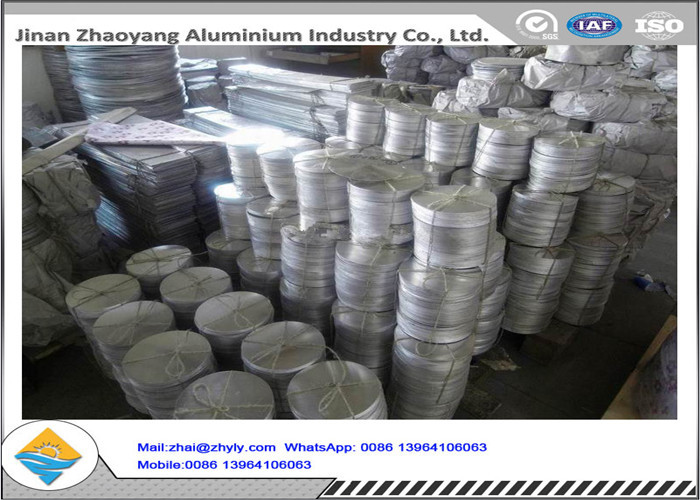Polished Decorative Aluminum Disk ISO 9001 Certification Aluminium Circle