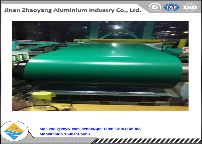 Plain Finish 1100 H14 Color Coated Aluminum Coil / Painting Aluminium Coil With PE